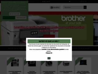 Des solutions d'impression professionnelles : location et maintenance de copieurs et imprimantes