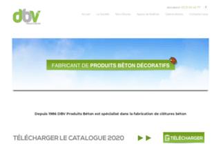 Détails : DBV Produits Béton : fabrication de clôtures décoratives en béton au Nord