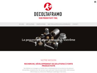 Détails : Décolletage et Usinage - DecoltaFramo