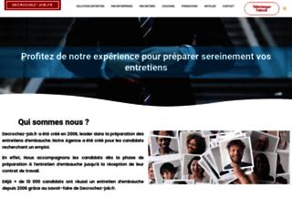 Détails : Réussir son entretien d'embauche avec Decrochez-job.fr
