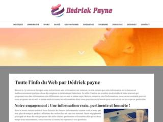 Détails : http://www.dedrickpayne.com/