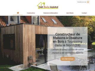 DÉFI BOIS HABITAT à Tourcoing réalise votre maison sur-mesure