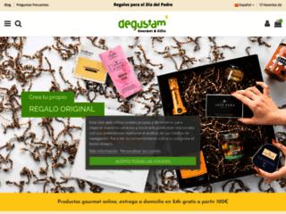 Détails : Shop gourmet online