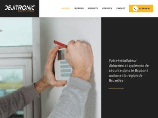 Dejitronic : pour l'installation et l'entretien des systèmes de sécurité