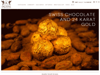 Détails : Boutique cadeaux en or