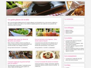 Delices-de-la-table.com