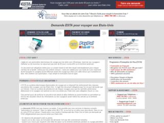 ESTA : demande d'autorisation de voyage aux États-Unis