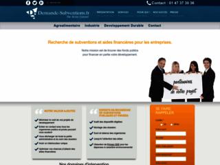Détails : Demande-subventions.fr, expert des aides financières françaises et européennes