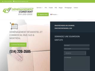 Détails : Déménagement résidentiel et commercial sur l'île de Montréal