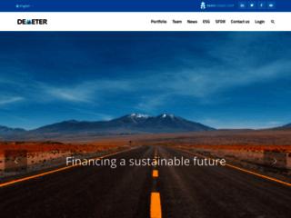 Fonds transition énergétique - Demeter
