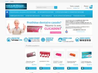 Dentairehouse site de produits dentaires pour particuliers