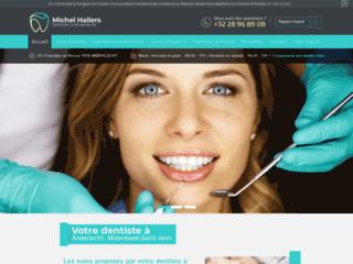 Détails : Michel Hallers, dentiste à Anderlecht