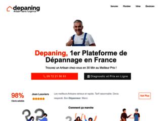 Depaning est une jeune entreprise qui référence l'ensemble des professionnels du Batiment