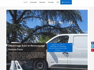 Détails : Dépannage Auto Paris et remorquage voiture