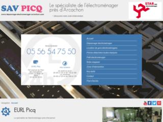 Détails : EURL Picq, vente et dépannage électroménagers