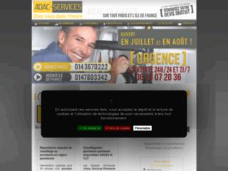 Détails : Adac Services, dépannage plomberie à Paris