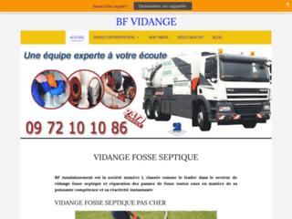 VIDANGE FOSSE SEPTIQUE - POMPAGE 24Heures /24 7Jours/7