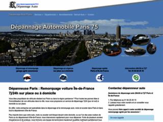 Détails : Dépannage Auto Paris: Remorquage, dépanneuse 24h/24 et 7j/7