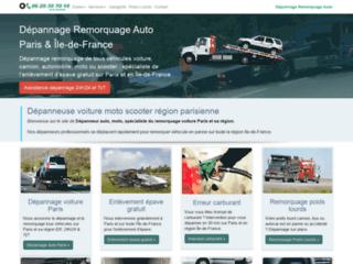Détails : Dépannage et remorquage auto Paris et Île-de-France