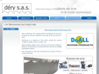 Détails : Déry : Vente rubans de scie carbone et bimétal