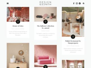 Design Hunger: blog abordant des sujets de décoration