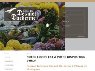 Funérailles Desmet-Dardenne et assurance décès