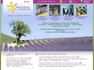 Détails : Agence de voyage Destination Provence