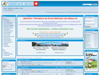 Détails : Détecteur de métaux - Forum Suisse