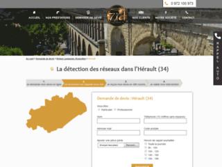 Détails : Détection de réseaux dans L'Hérault