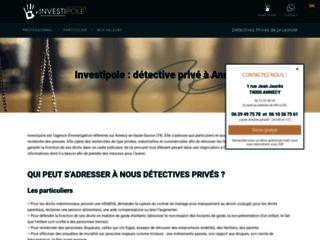 Investipole detective Lyon