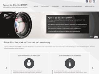 Détails : cabinet de détective privé Dixon sur Thionville, Metz, Nancy et le Luxembourg