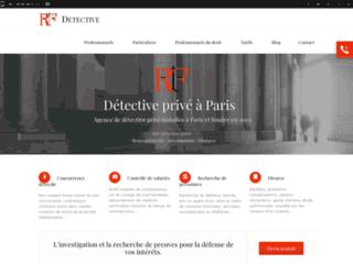 RIF : detective prive sur Paris