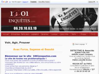 Détails : Agence de détective prive a Paris
