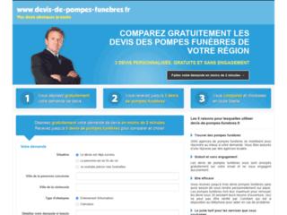 Détails : Devis pompes funèbres en ligne