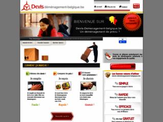 Détails : Devis déménagement en Belgique