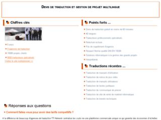 Détails : Devis traduction français slovaque