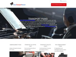 Détails : Transport et déménagement et objets lourds sur l'Île de France