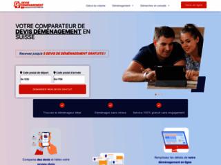 Détails : Entreprise de déménagement basée à Lausanne en suisse