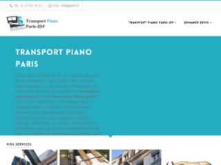 Détails : transporteur de piano