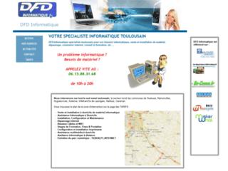 Détails : DFD informatique dépannage sur Toulouse