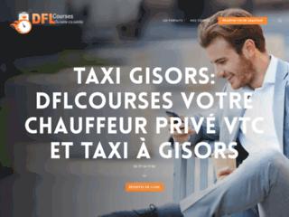 Louez un taxi à Gisors et ses environs grâce à Dflcourses