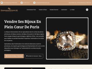 Détails : Diamantaires OG : vente et achat de diamants et de bijoux anciens à Paris