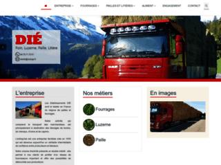 Détails : Luzerne, fourrages & foin dans le centre France