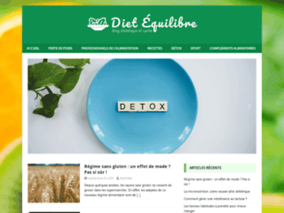 Dietequilibre.com : de bons conseils pour votre bien-être