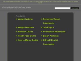 produit diététique bio