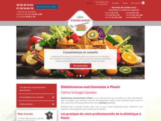 Diététicienne-nutritionniste à Plaisir : Céline Schlegel-Savidan