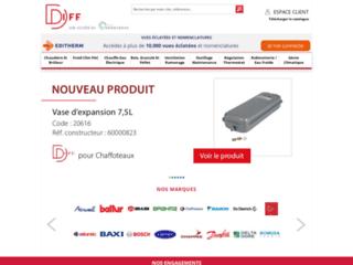 DIFF : vente de pièces détachées de qualité