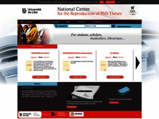 Vente de thèses de doctorat en ligne