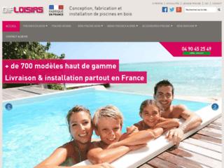 Détails :  Fabricant de piscines en bois