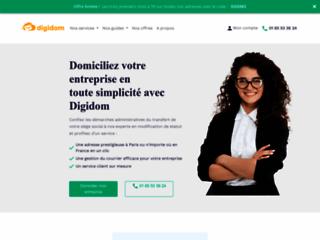 Détails : digidom.pro, domiciliation et creation d entreprise